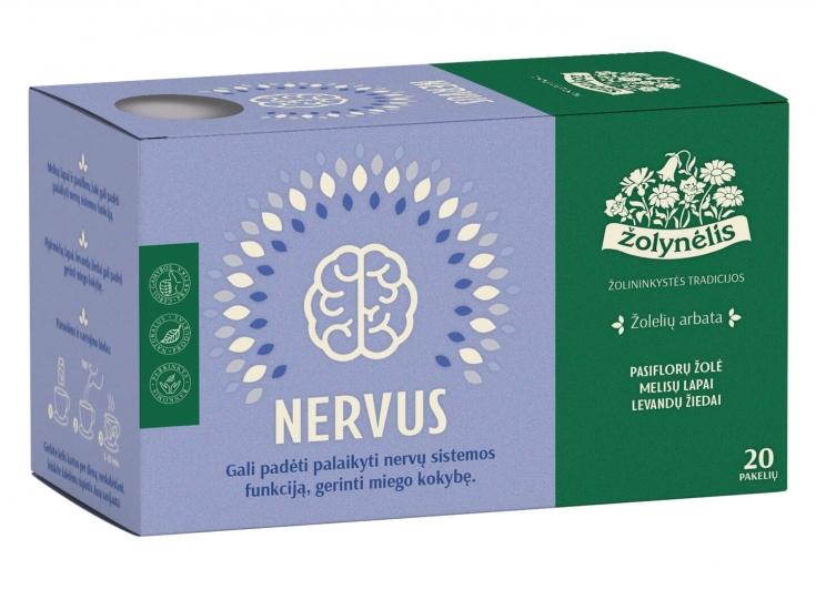 Žolelių arbata Nervus - Žolynėlis, 30 g