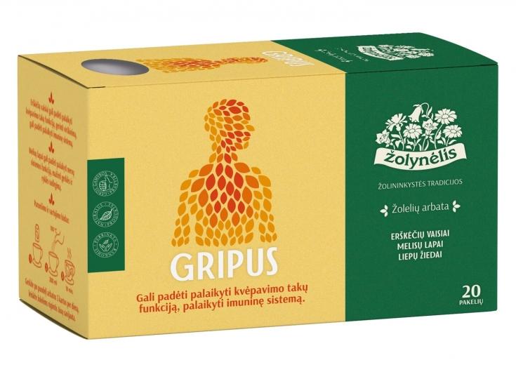 Žolelių arbata Gripus - Žolynėlis, 30 g
