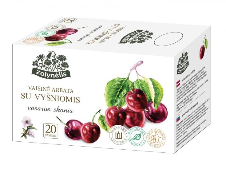 Vaisinė arbata su vyšniomis - Žolynėlis, 50 g