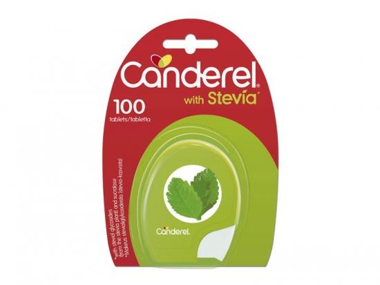 Saldiklis su stevija - Canderel Green, tabletės