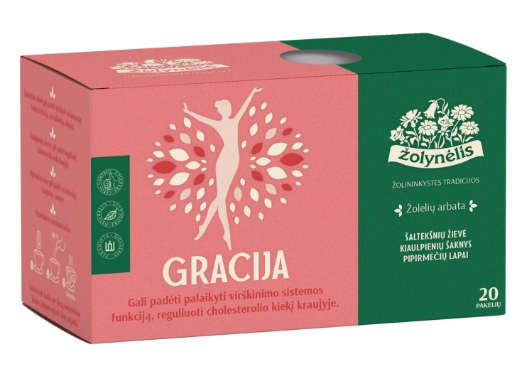 Žolelių arbata Gracija - Žolynėlis, 30 g