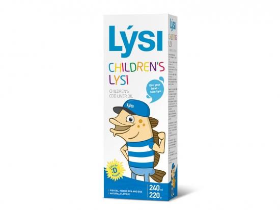 Žuvų taukai vaikams - Lysi Children's, 240ml