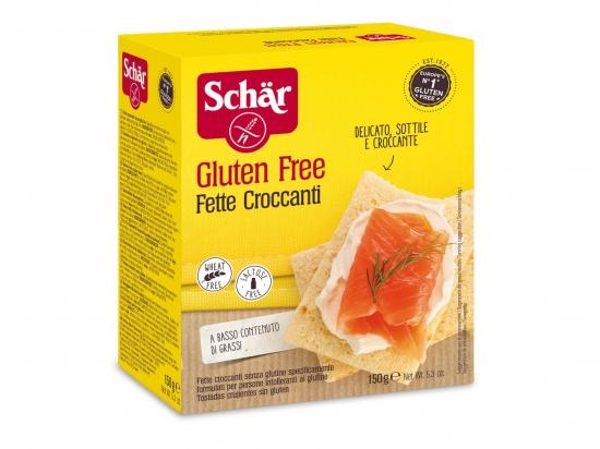 Traškios duonelės - Schar Fette Croccanti, 150g