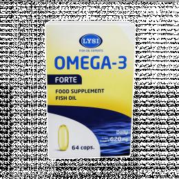 Žuvų taukai - Lysi Omega 3 Forte, kapsulės
