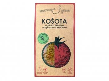 Bulguro kruopos su lęšiais ir pomidorais - Košota, 200 g