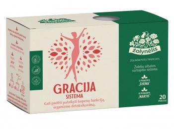 Žolelių arbata Gracija sistema - Žolynėlis, 40 g
