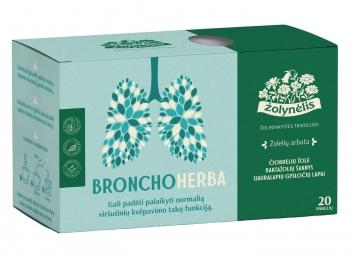 Žolelių arbata Bronchoherba - Žolynėlis, 30g