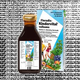 Multivitaminai vaikams - Floradix Kindervital, 250ml