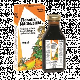 Skysta magnio formulė - Floradix Magnesium, 250ml