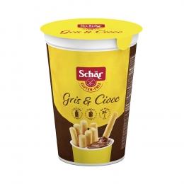 Traškios lazdelės su kakavos kremu - Schar Gris & Ciocc, 52g