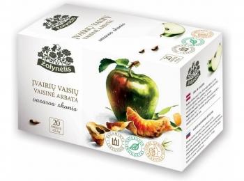 Vaisinė arbata su įvairiais vaisiais - Žolynėlis, 50 g