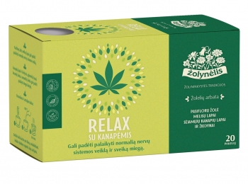 Žolelių arbata Relax - Žolynėlis, 30 g